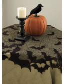 Bat Round Table Topper, halloween costume (Bat Round Table Topper)