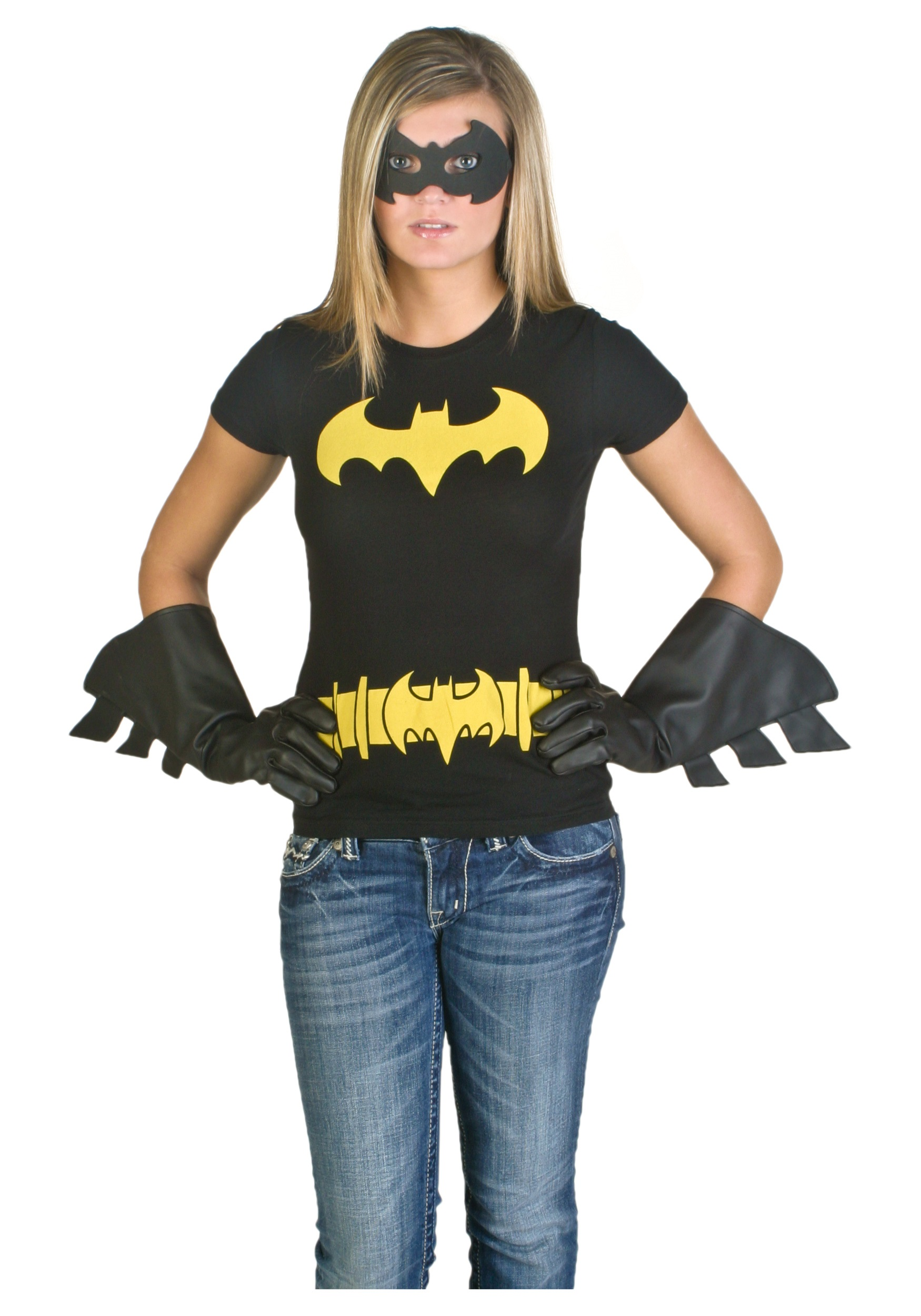 Batgirl Costume T-Shirt  sc 1 st  Halloween Costumes & Batgirl Costume T-Shirt - Halloween Costumes