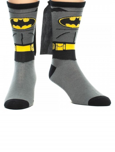 Batman Cape Crew Socks, halloween costume (Batman Cape Crew Socks)