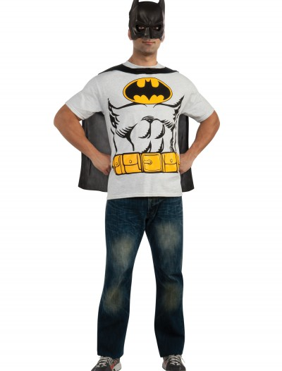Batman T-Shirt Costume, halloween costume (Batman T-Shirt Costume)
