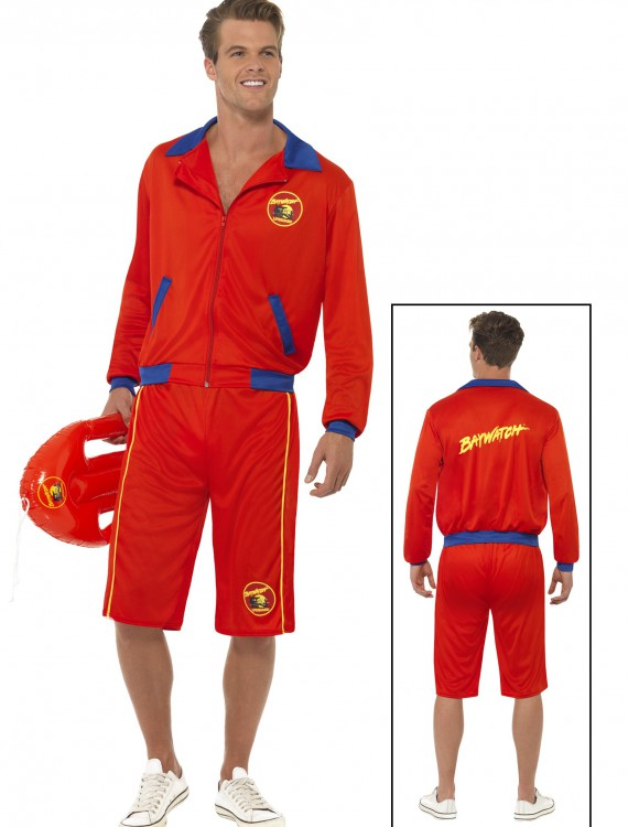 Baywatch Beach Men's Lifeguard Costume, halloween costume (Baywatch Beach Men's Lifeguard Costume)