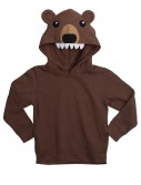 Bear Face Animal Hoodie, halloween costume (Bear Face Animal Hoodie)