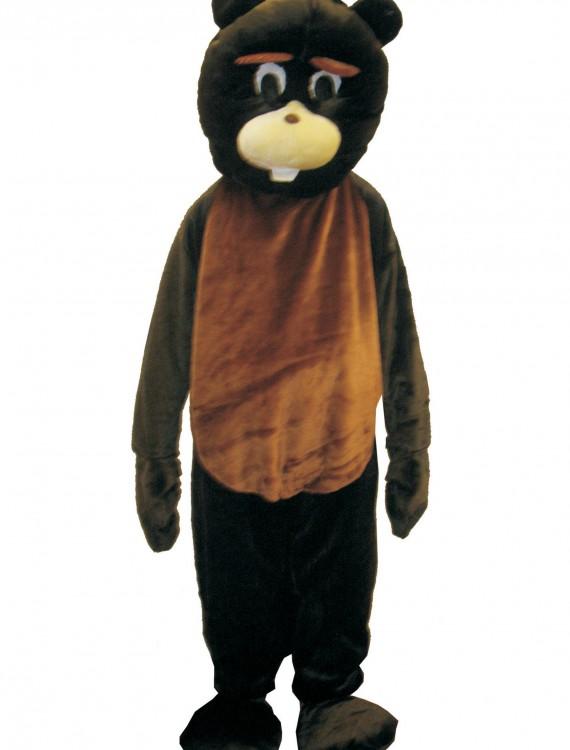 Beaver Mascot Costume, halloween costume (Beaver Mascot Costume)