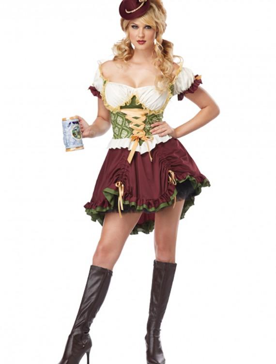 Beer Garden Girl Plus Size Costume, halloween costume (Beer Garden Girl Plus Size Costume)