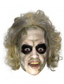 Beetlejuice 3/4 Vinyl Mask w/ Hair, halloween costume (Beetlejuice 3/4 Vinyl Mask w/ Hair)