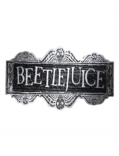 Beetlejuice Sign, halloween costume (Beetlejuice Sign)