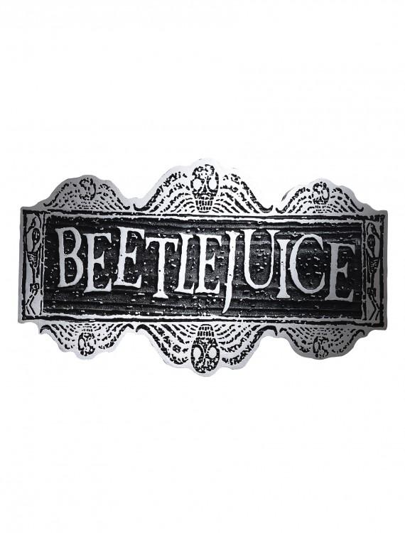 Beetlejuice Sign, halloween costume (Beetlejuice Sign)