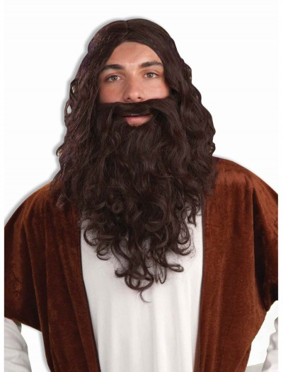 Biblical Wig and Beard Set, halloween costume (Biblical Wig and Beard Set)