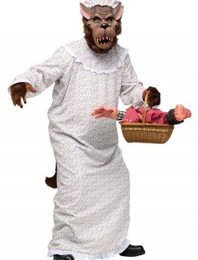 Big Bad Granny Wolf Costume, halloween costume (Big Bad Granny Wolf Costume)