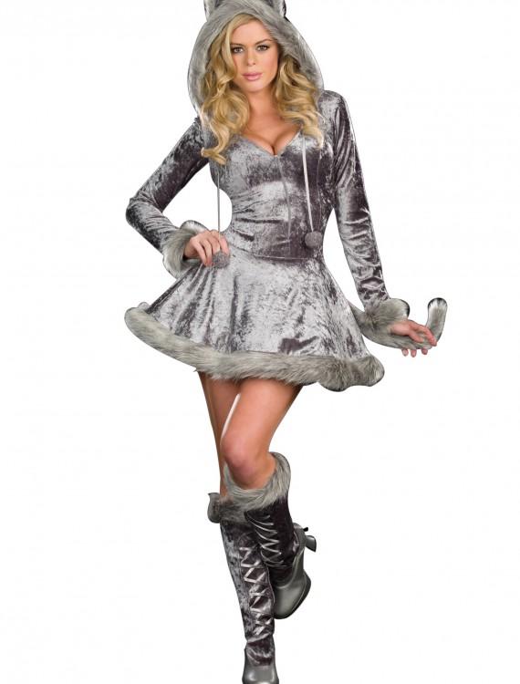 Big Bad Sexy Wolf Costume, halloween costume (Big Bad Sexy Wolf Costume)