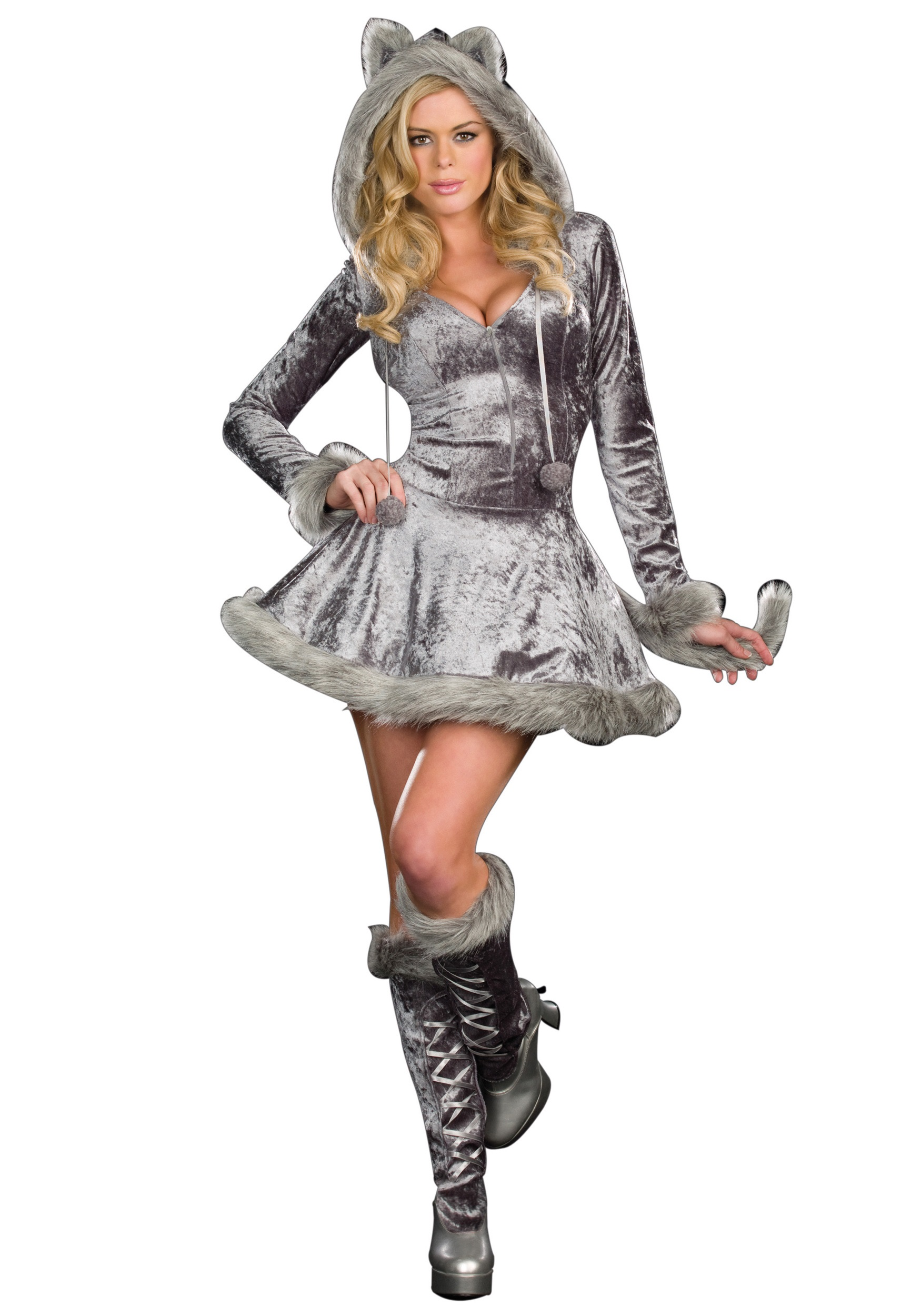 Big Bad Sexy Wolf Costume  sc 1 st  Halloween Costumes & Big Bad Sexy Wolf Costume - Halloween Costumes