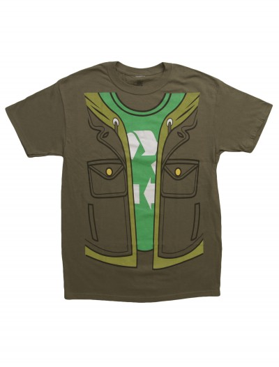 Big Bang Theory Leonard Costume T-Shirt, halloween costume (Big Bang Theory Leonard Costume T-Shirt)