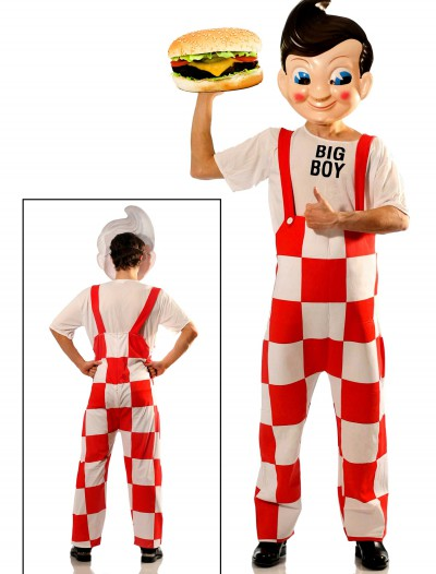 Big Boy Deluxe Costume w/Plastic Mask, halloween costume (Big Boy Deluxe Costume w/Plastic Mask)