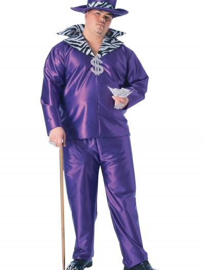 Big Daddy Pimp Plus Size Costume, halloween costume (Big Daddy Pimp Plus Size Costume)
