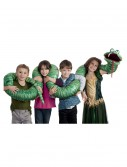 Big Green Snake Arm Puppet, halloween costume (Big Green Snake Arm Puppet)