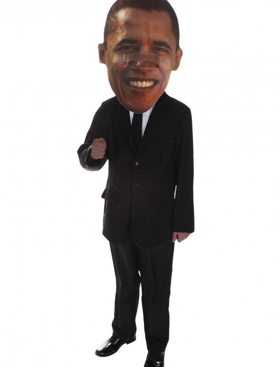 Big Head Mask Obama, halloween costume (Big Head Mask Obama)