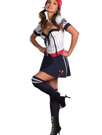 Big League Babe Costume, halloween costume (Big League Babe Costume)