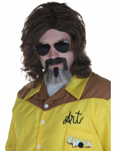 Big Lebowski The Dude Wig and Beard, halloween costume (Big Lebowski The Dude Wig and Beard)