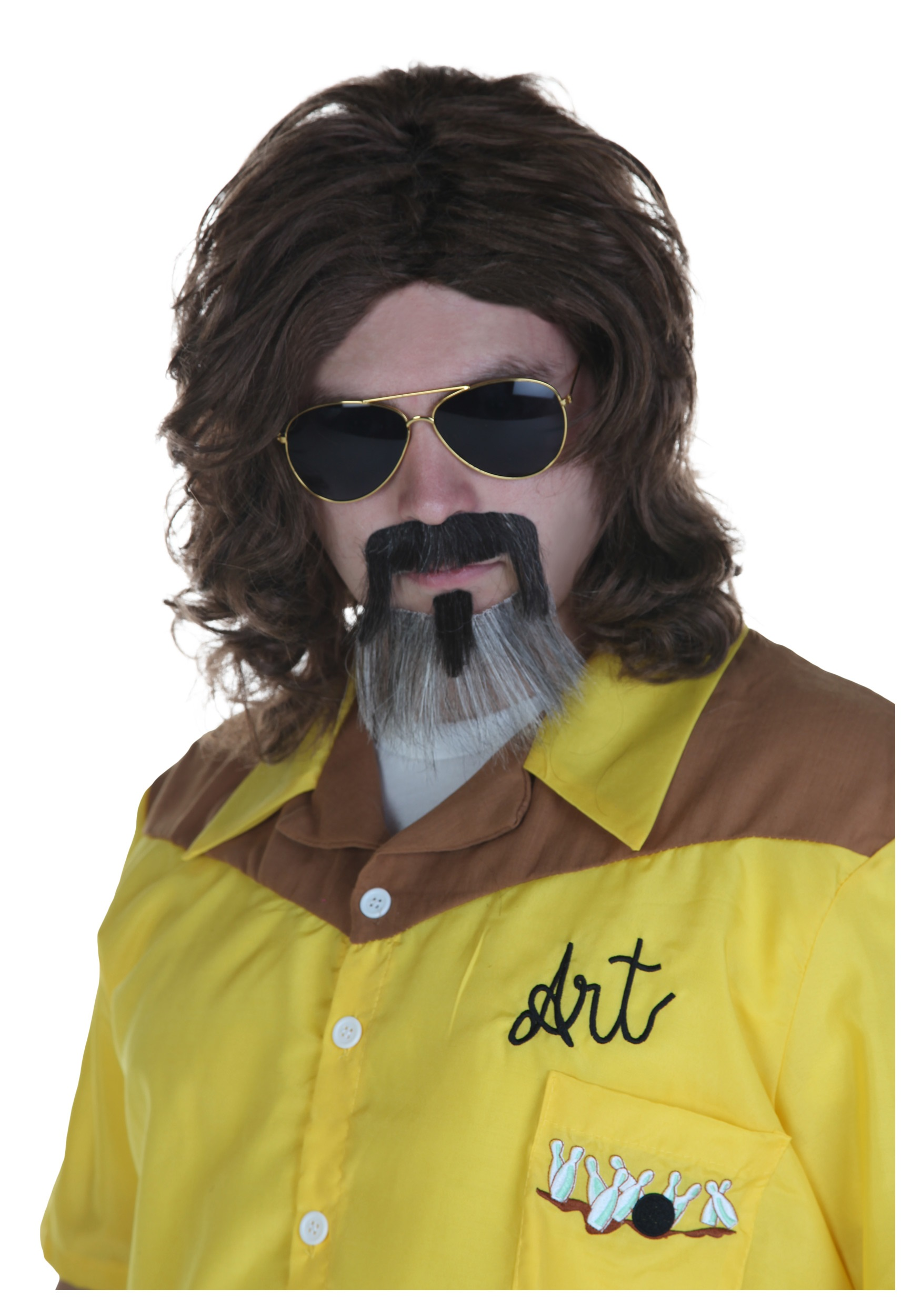 big lebowski the dude wig and beard - halloween costumes