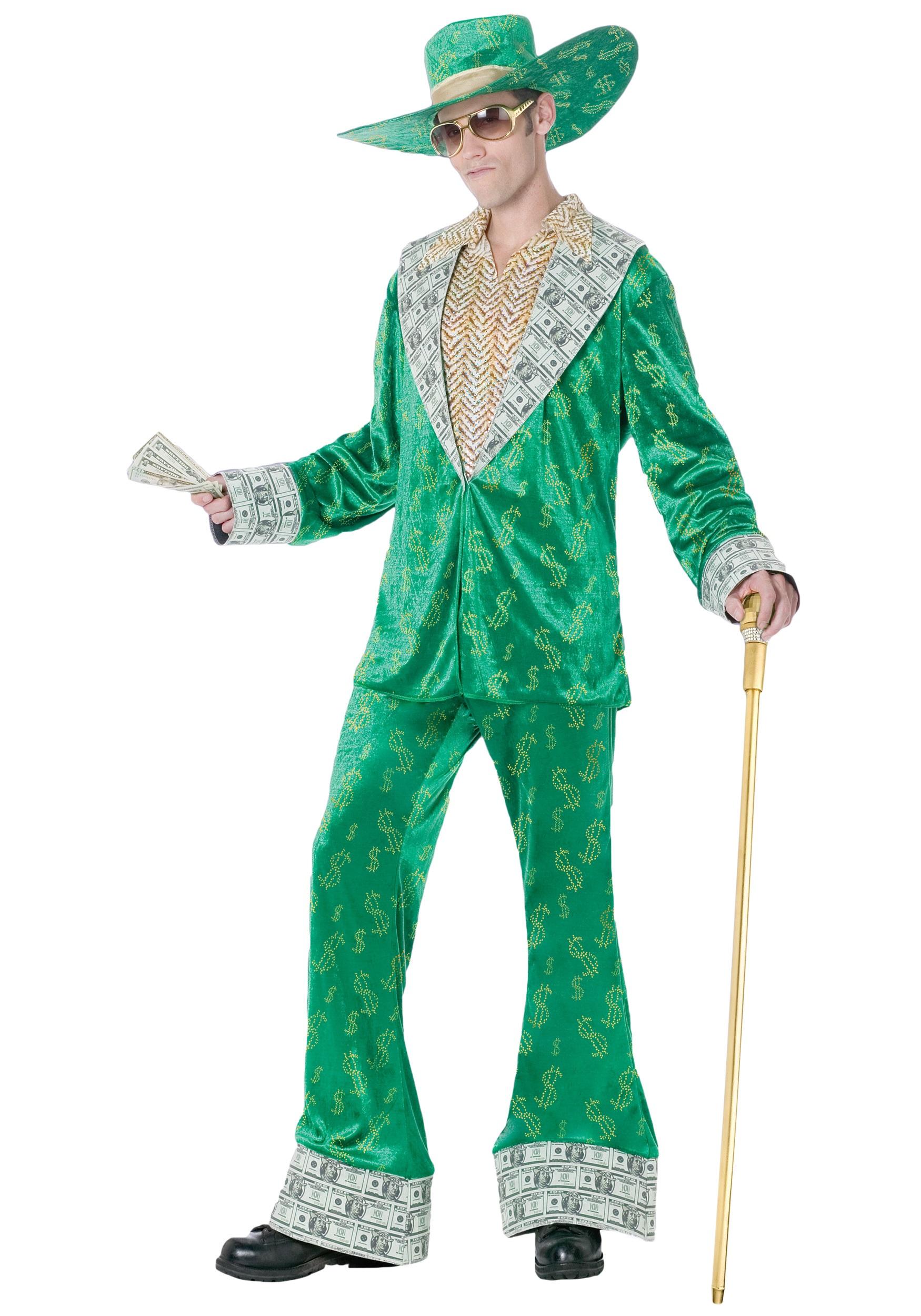 big money pimp costumes