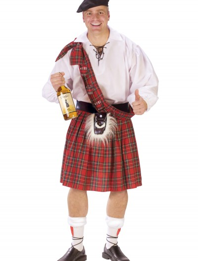 Big Shot Scot Costume, halloween costume (Big Shot Scot Costume)