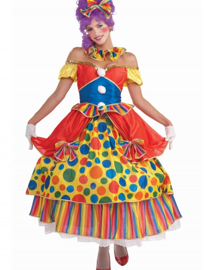 Big Top Belle Clown Costume, halloween costume (Big Top Belle Clown Costume)