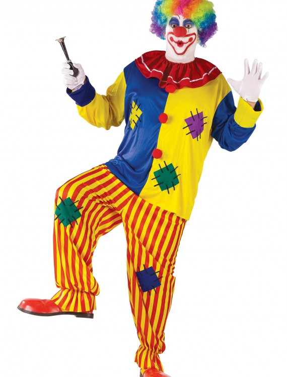 Big Top Clown Costume, halloween costume (Big Top Clown Costume)