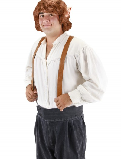 Bilbo Baggins Wig with Ears, halloween costume (Bilbo Baggins Wig with Ears)