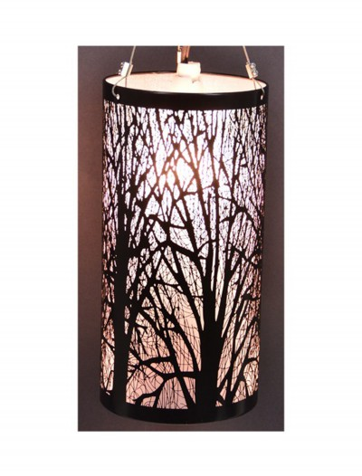11.5'' Birch Hanging Light, halloween costume (11.5'' Birch Hanging Light)