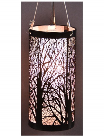 7'' Birch Hanging Light, halloween costume (7'' Birch Hanging Light)