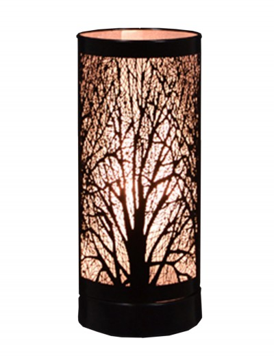 Black 8'' Birch Table Lamp, halloween costume (Black 8'' Birch Table Lamp)