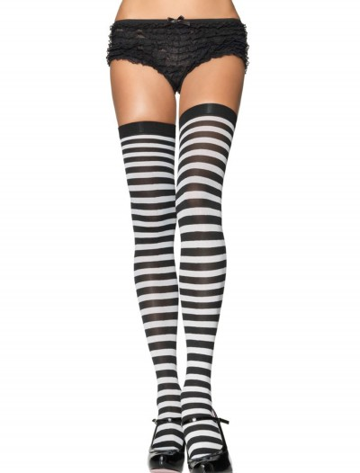 Black and White Nylon Stockings, halloween costume (Black and White Nylon Stockings)
