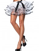 Black and White Tulle Petticoat, halloween costume (Black and White Tulle Petticoat)
