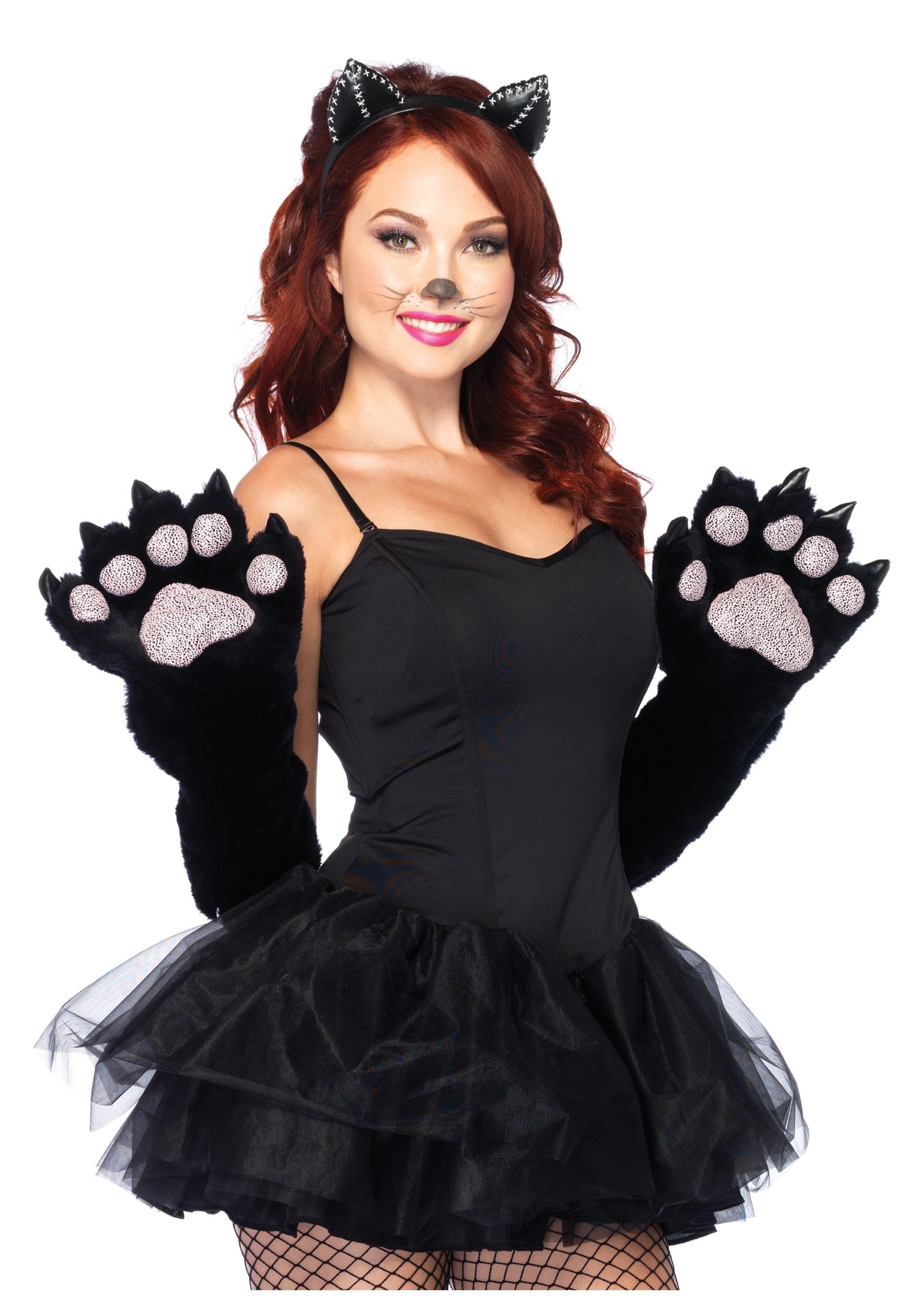 Как сделать костюм кошки для девочки в домашних условиях