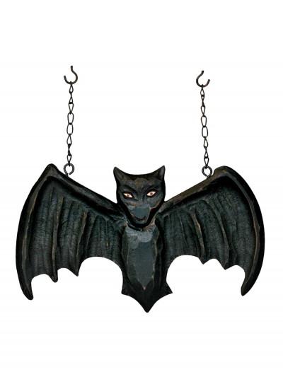 Black Bat Hanging Sign, halloween costume (Black Bat Hanging Sign)
