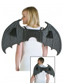 Black Bat Wings, halloween costume (Black Bat Wings)