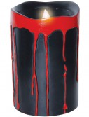 Black Blood Dripping Candles, halloween costume (Black Blood Dripping Candles)