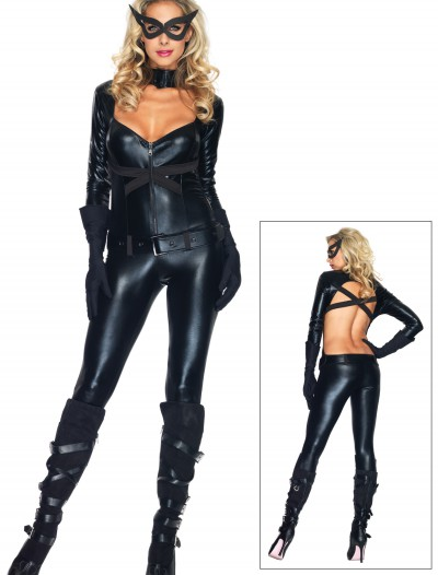 Black Cat Girl Costume, halloween costume (Black Cat Girl Costume)