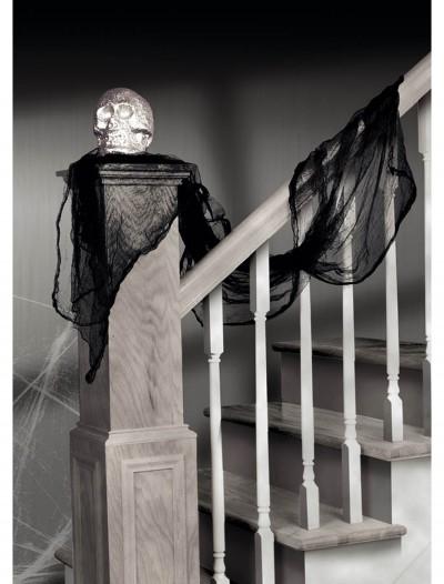 Black Cheesecloth Drape, halloween costume (Black Cheesecloth Drape)
