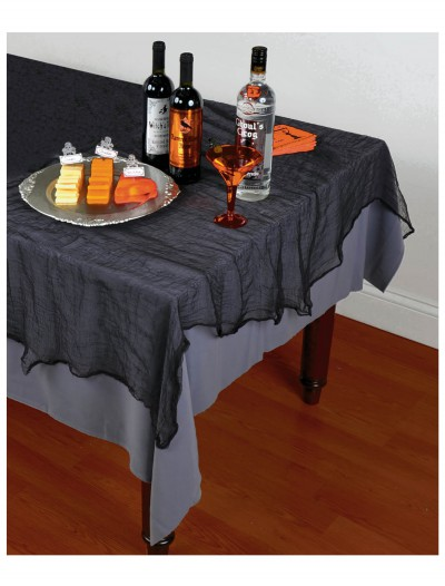 Black Cheesecloth Tablecloth, halloween costume (Black Cheesecloth Tablecloth)