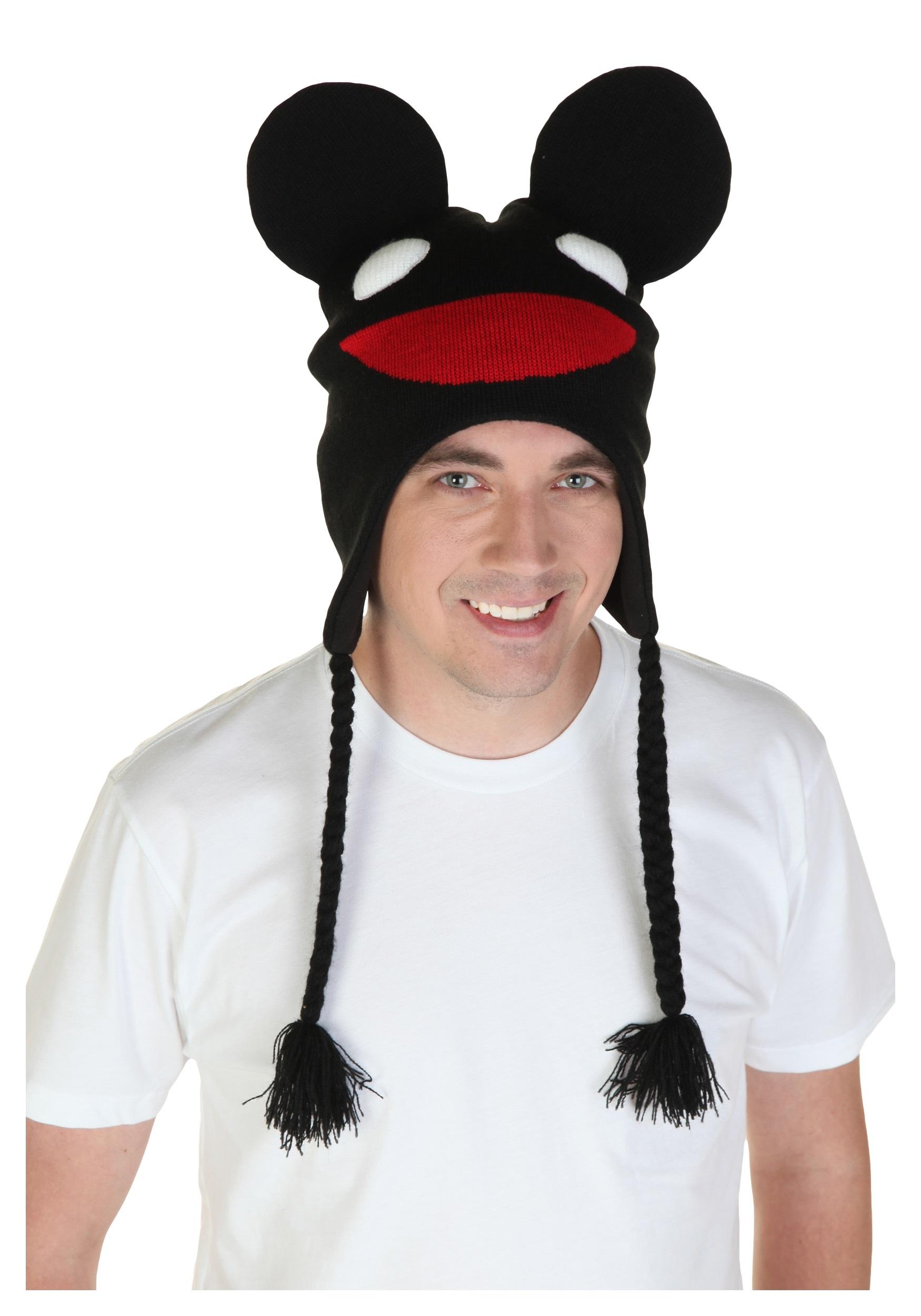 black deadmau5 peruvian hat
