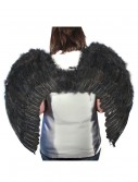 Black Feather Angel Wings, halloween costume (Black Feather Angel Wings)