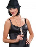 Black Flapper Hat, halloween costume (Black Flapper Hat)