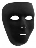 Black Full Face Mask, halloween costume (Black Full Face Mask)
