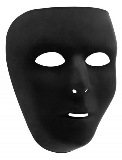 Black Full Face Mask, halloween costume (Black Full Face Mask)