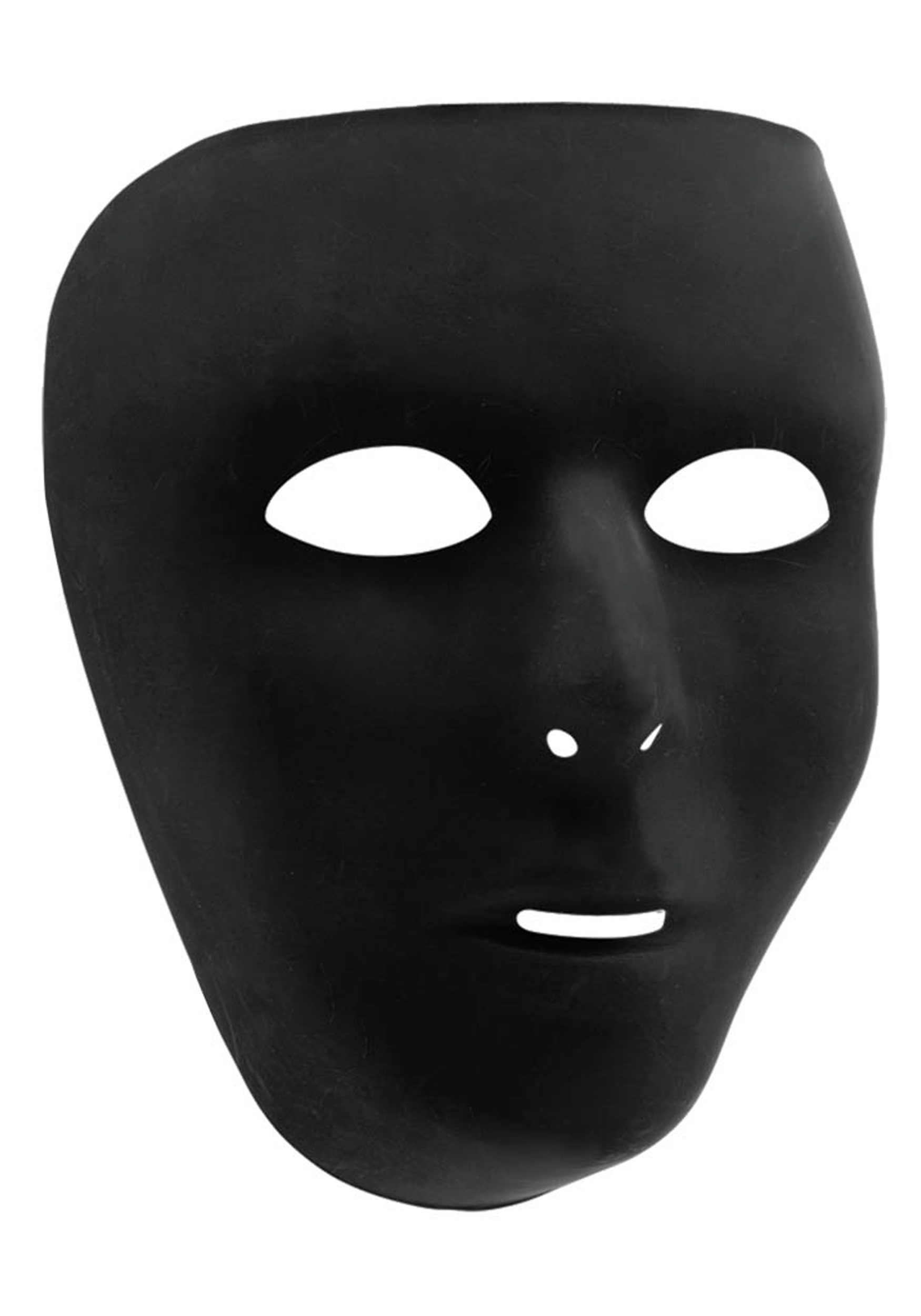 Black Full Face Mask - Halloween Costumes