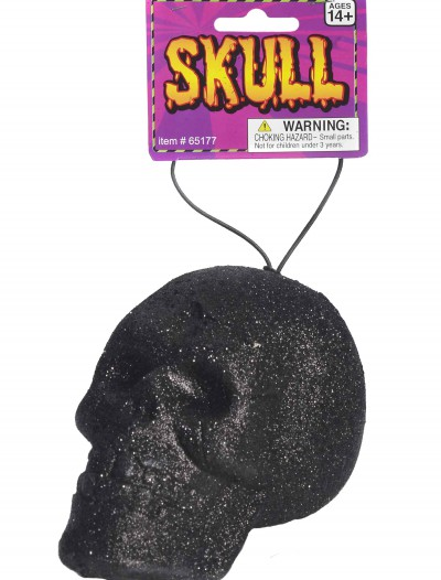 Black Glitter Skull, halloween costume (Black Glitter Skull)