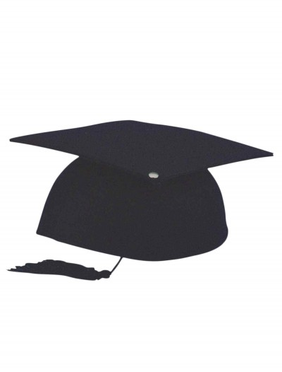 Black Graduation Cap, halloween costume (Black Graduation Cap)