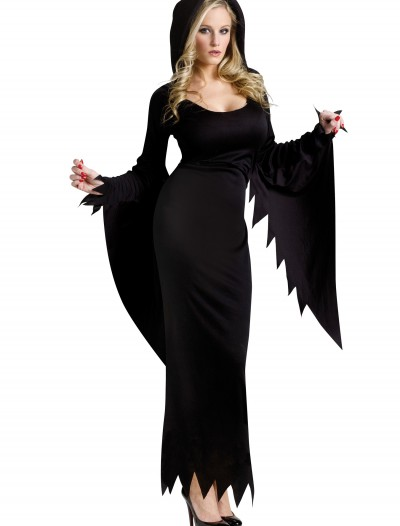 Black Hooded Gown, halloween costume (Black Hooded Gown)