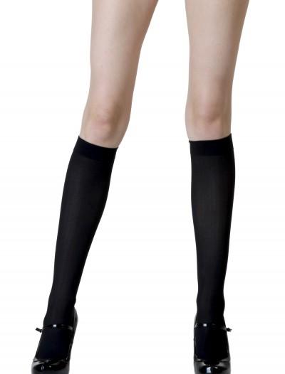 Black Knee High Stockings, halloween costume (Black Knee High Stockings)